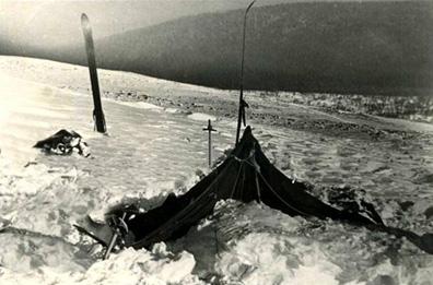 Палатка Дятлова