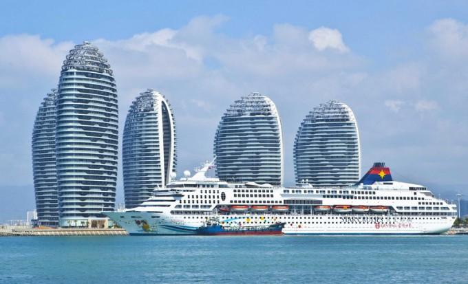 """Остров """"Феникс"""" в Китае"""