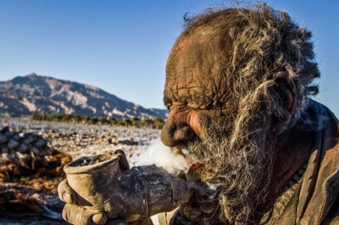 Man-Hasnt-bathed-60-Years-Photos-Iran